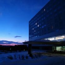 【ホテル外観】日の出