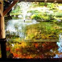 【雫石高倉温泉】秋は紅葉がお楽しみいただけます。