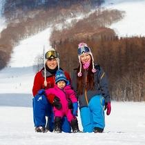 【雫石スキー場】お子さま連れファミリーも安心!