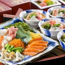 【夕食】ブッフェのおすすめは!海の幸'こしぇる丼'