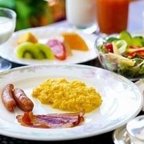 【朝食】アメリカンブレックファースト