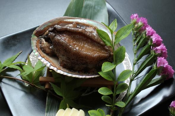 ≪春≫伊勢海老(一人1尾)・鮑(一人1枚)・熊野牛ステーキにしゃぶしゃぶ【ご夕食は お食事処】