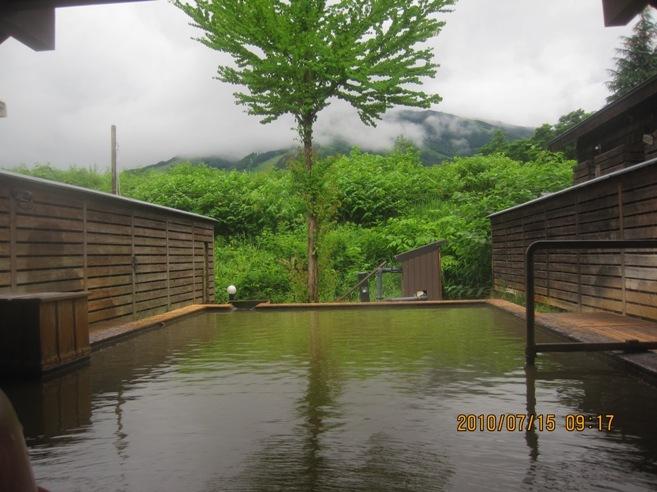 塩の道温泉露天風呂
