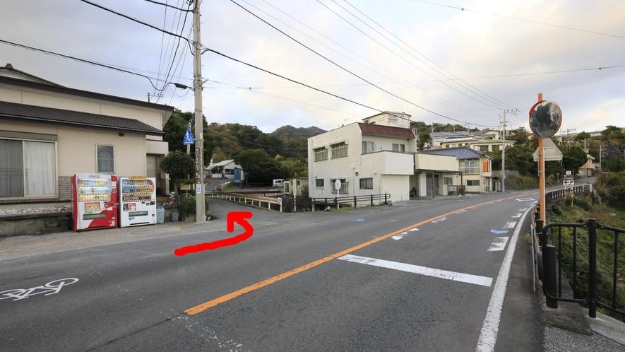 その他|国道135号を右折するとバスなど大型車では曲がりにくい場合があるため、南側から左折がおすすめ