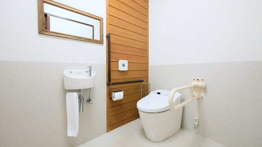 露天風呂付き客室(B-2)|車椅子対応トイレ