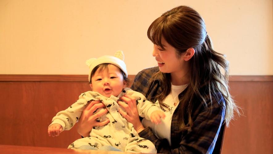 露天風呂付き客室(B-2)|赤ちゃん連れ旅行でも安心です♪