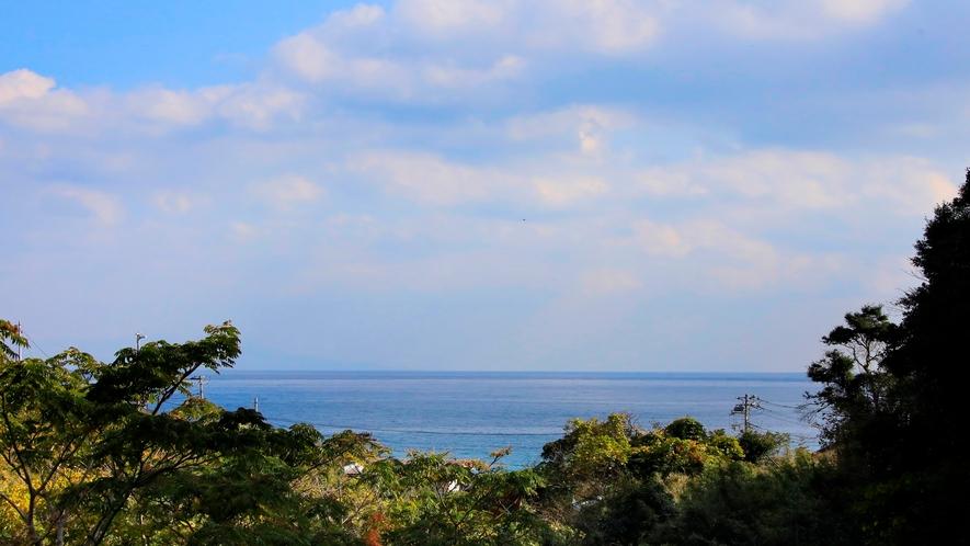 海の見えるサンルーフ付ツインルーム|お部屋からの景色