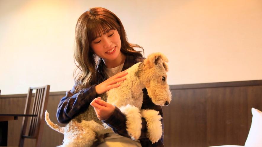 露天風呂付き客室(B-3)|愛犬とゆったり♪
