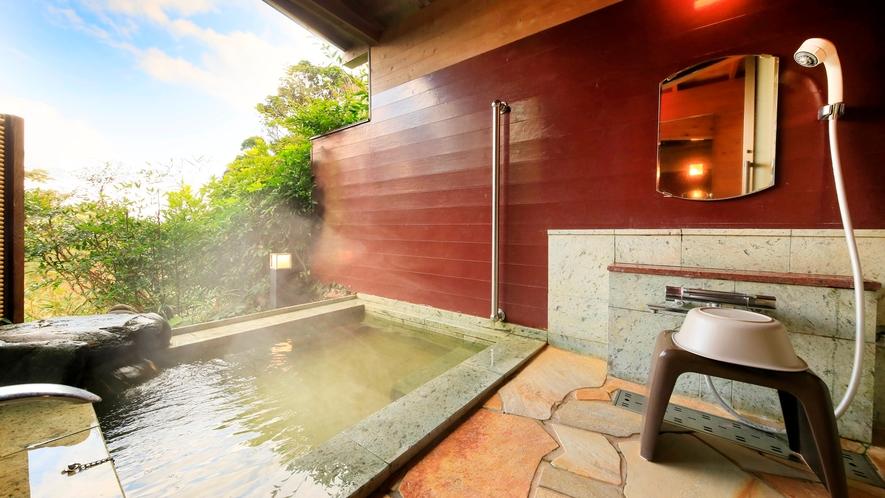 露天風呂付き客室(B-3)|和モダンスタイルの露天風呂付きのお部屋です。