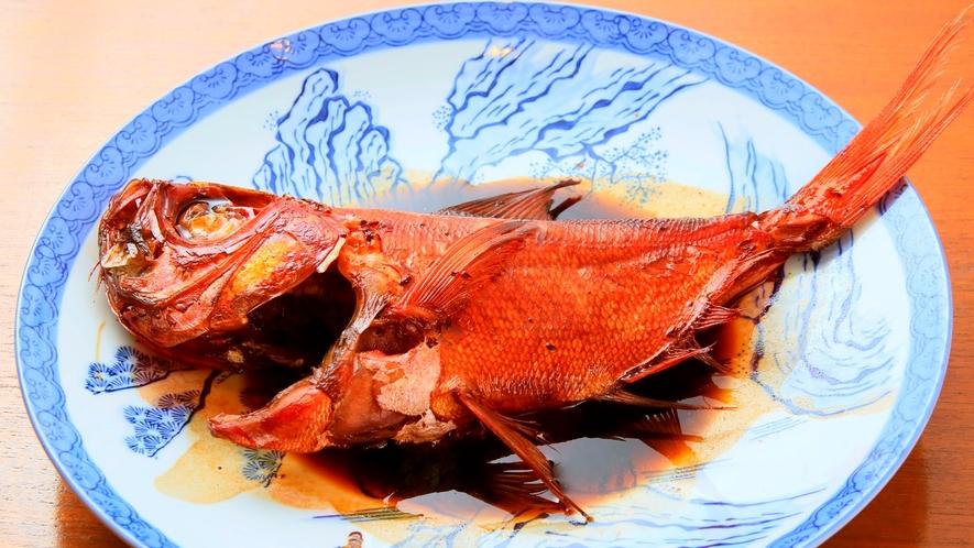 お食事|金目鯛