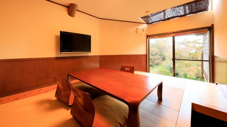 露天風呂付き客室(B-3)|和洋室タイプの特別室です。