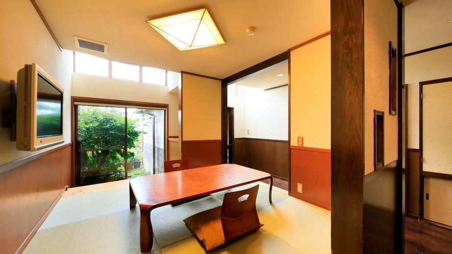 露天風呂付き客室(B-2)|和洋室タイプの特別室です。