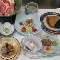 *夕食一例/2015年夏