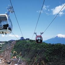 *箱根ロープウェイの空中散歩がおすすめです。