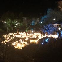 *箱根強羅公園スプリングナイトガーデン/当館なら、夜間特別入園も無料です