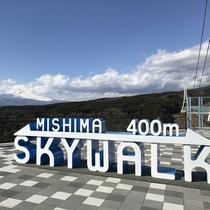 *三島スカイウォーク/全長400m・歩行者専用としては日本一長い吊橋。
