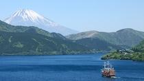 芦ノ湖から望む富士山(夏)