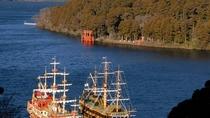 芦ノ湖と海賊船(秋・11月)