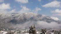 大文字焼き(雪景色)