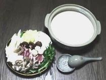 西米良サーモンの豆乳鍋