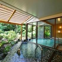 露天付き温泉大浴場