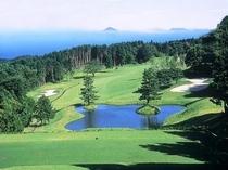 稲取ゴルフコースの一例(山)