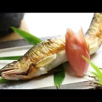 【夏 単品一例】焼きたて鮎の塩焼き