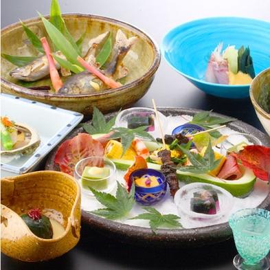 【楽天スーパーSALE】5%OFF【本格懐石 部屋食】〜金沢の季節を愛でる基本プラン〜