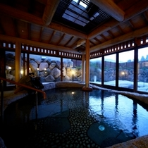 ■大浴場「合歓の湯」■ ゆったりの広さで心も体もリラックス