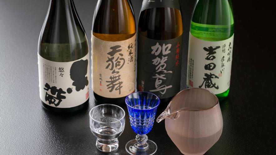 地酒②  極上の一杯を。豊かな水、山からの清澄で寒冷な空気、豊かな米の実りが生み出した地酒