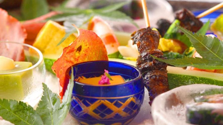 ■夕食一例■  旬のもの、活きのよさにこだわっておりますので、お献立は日替わりです。