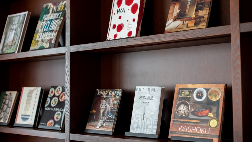 「ハートニングルーム」では本もご用意しています