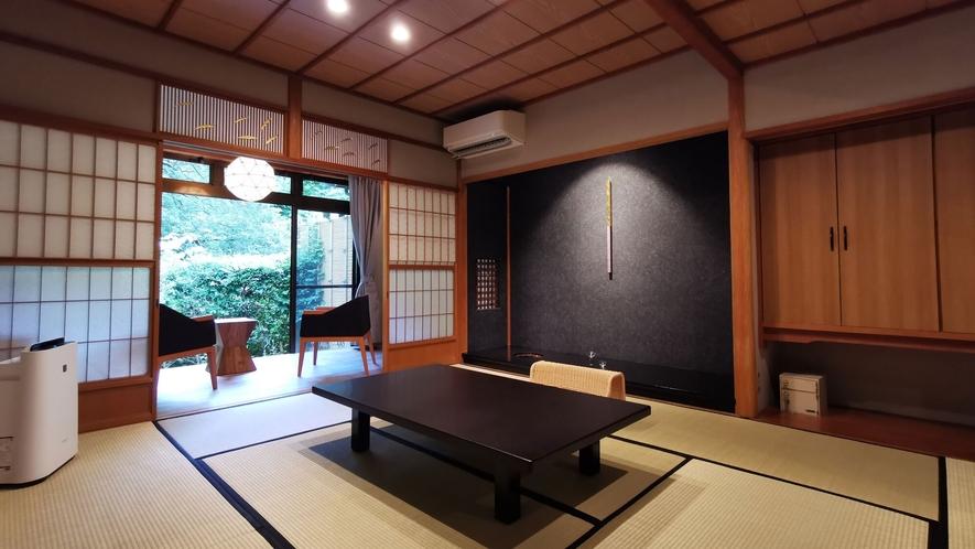 2020年2月完成。加賀の魅力と和の趣【内湯付客室】しらさぎ