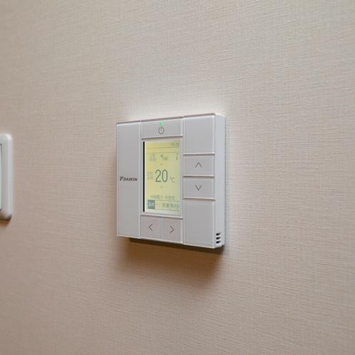 客室エアコンスイッチ