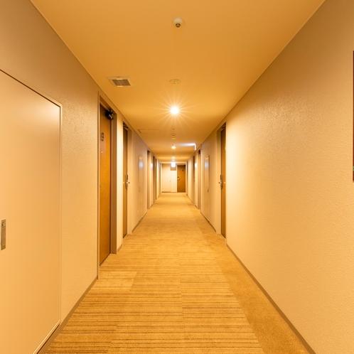 レディースフロア廊下
