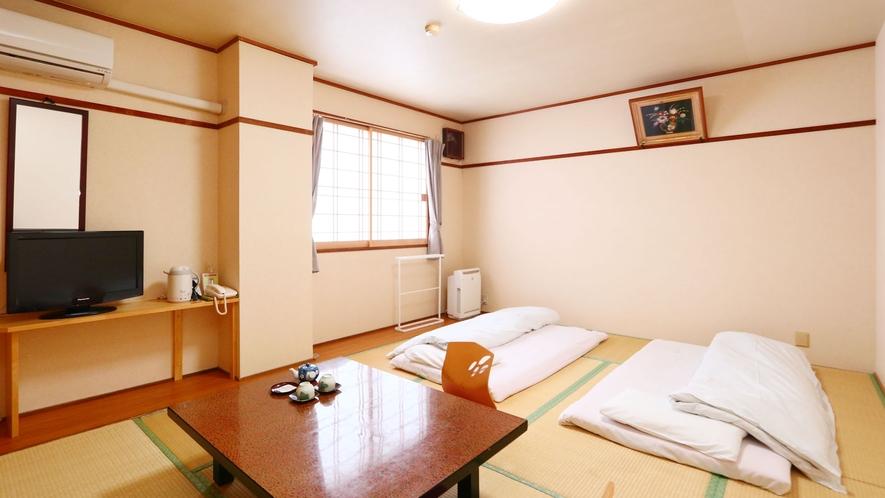 和室(トイレ付)●価格重視の方へ♪お風呂は足を伸ばせる大浴場をどうぞ!