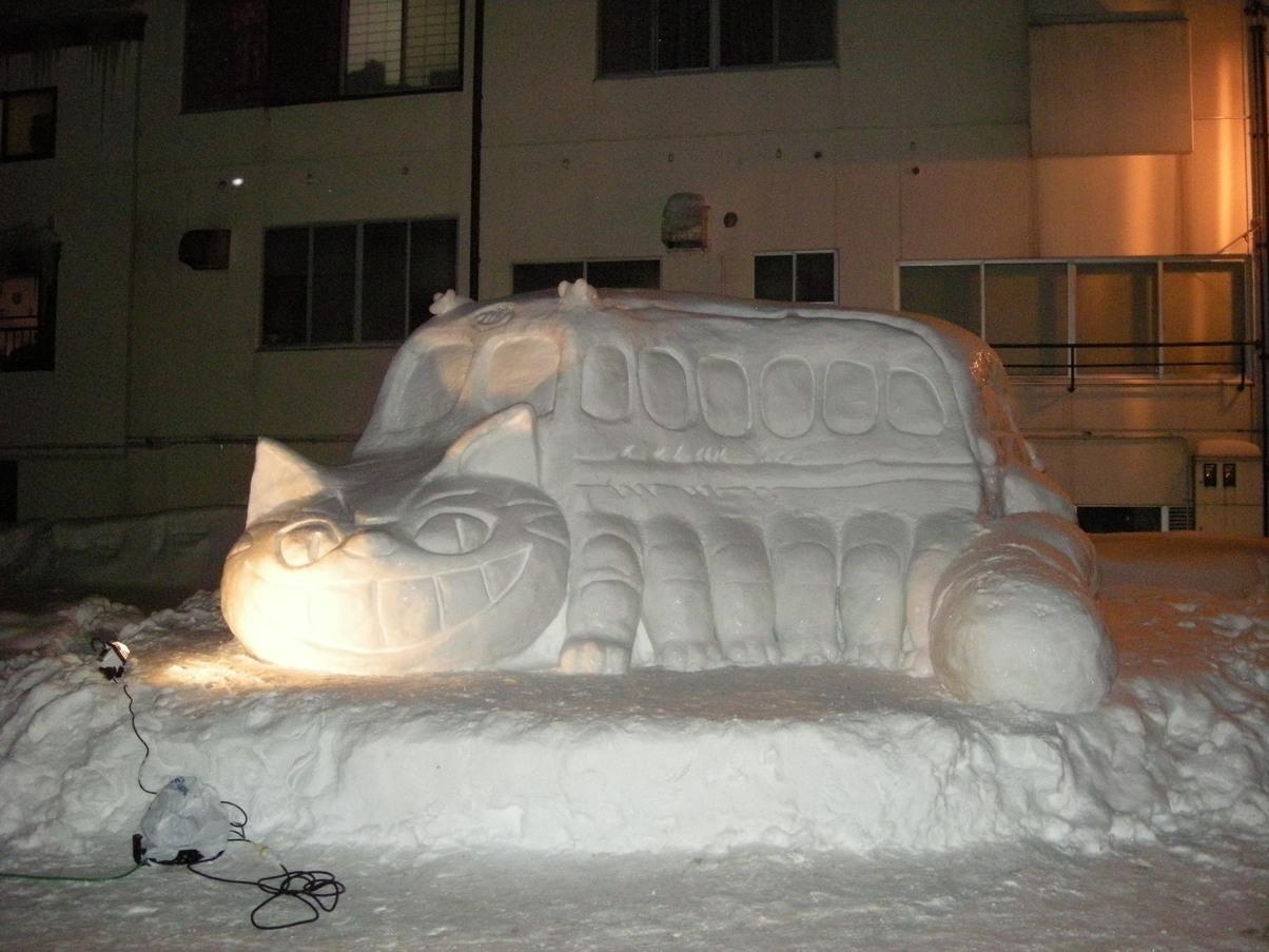 昔の雪像3