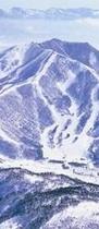 スキー場全景縮小中央
