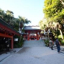 *【周辺観光】青島神社まで徒歩10分