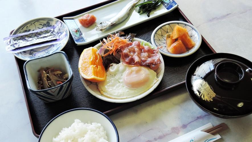*【朝食一例】和朝食を食堂にてご用意いたします
