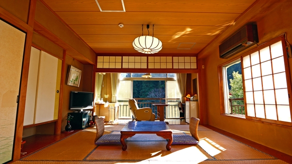 多摩川眺望【ゆったり和室】