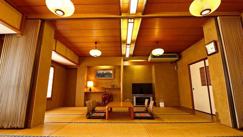 多摩川眺望【広々和室】24畳
