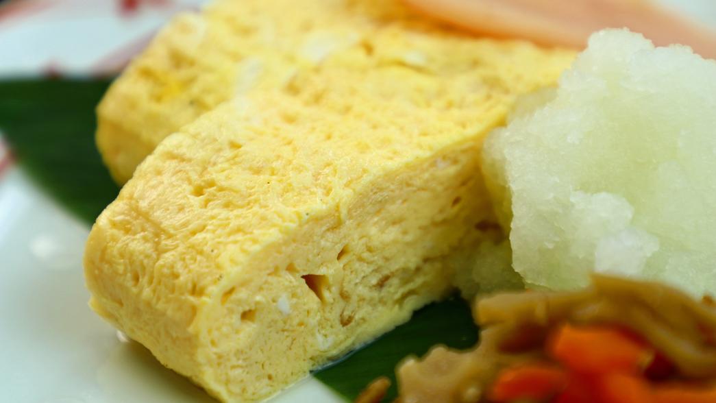 【朝食】ふっくら卵焼き