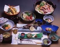 季節料理(夕食例)