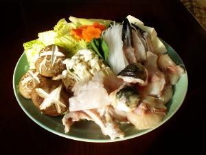 ふぐ料理(ふく鍋)
