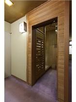■古代檜風呂へ、お入り下さい。