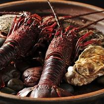 伊勢海老の料理