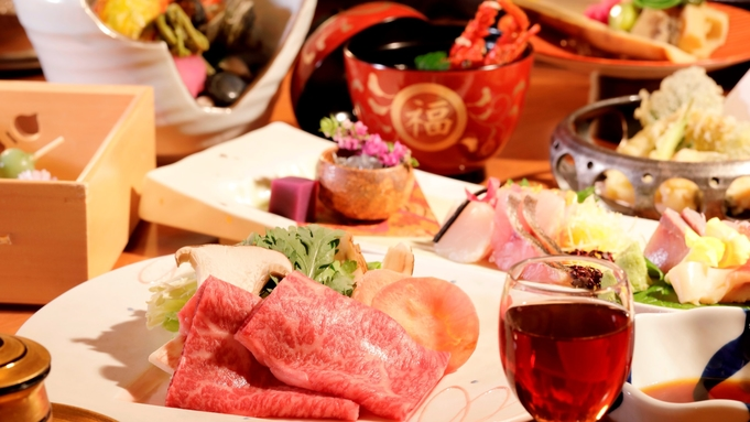 年末年始【露天風呂付 風の庵】■夕朝食お部屋でお食事■