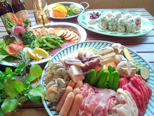 【夏休み】開放感バッチリ!ガーデンバーベキュー★みんなで食べれば美味しいね♪