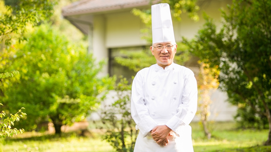 *志摩観光ホテル名誉料理長 奥伊勢フォレストピア料理顧問 宮嵜 英男氏